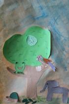 Olari 2. 11-12 B Viidakko-kollaasi ryhmätyönä (3)