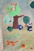 Olari 2. 11-12 B Viidakko-kollaasi ryhmätyönä (4)