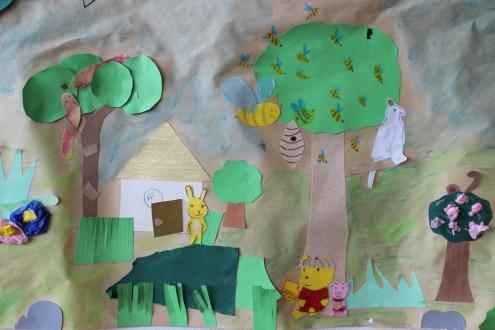 Olari 2. 11-12 B Viidakko-kollaasi ryhmätyönä (6)