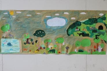 Olari 2. 11-12 B Viidakko-kollaasi ryhmätyönä